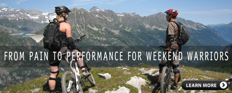 Performance For Weekend Warriors